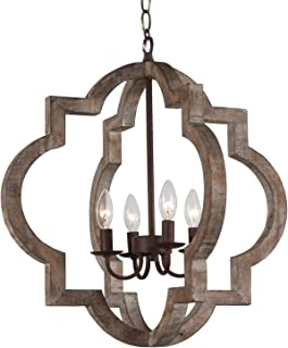 Best kennedy wood pendant light Reviews