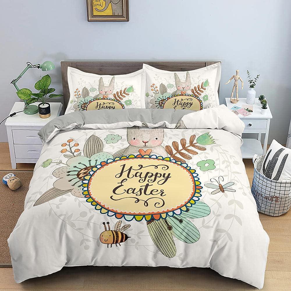 Duvet Cover Full Size Bunny Alternative dealer inc Cheap bargain 80x90 Comforter Flower bee