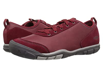 Keen Hush Leather (Bike Red) Women