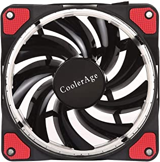 WTYD Computer Accessories Color LED 12cm 4pin Computer Components Chassis Fan Computer Host Cooling Fan Silent Fan Cooling...