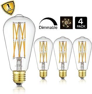 10W Edison Style Vintage LED Filament Light Bulb,ST64(ST21) Led Retro Bulb