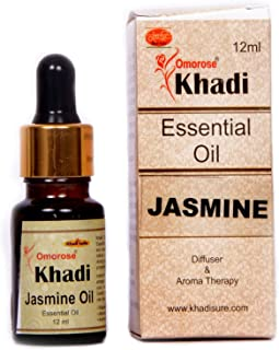Khadi Jasmine Essential Oil ( 12 ml ) With Self Dispensing Dropper Plug