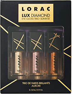 LUX Diamond Eye Gloss Trio, Sunrise