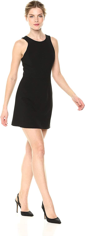 French Connection Whisper Women's Square Neck Sleeveless Mini Dress