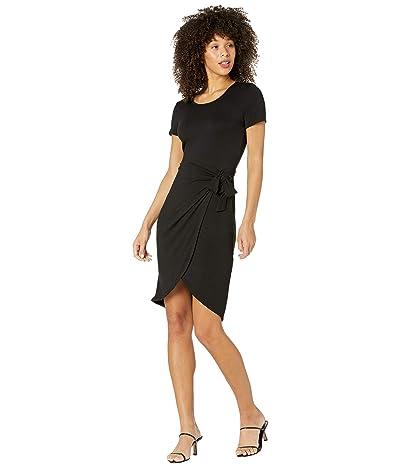 Calvin Klein Short Sleeve Dress with Self Tie Belt Women