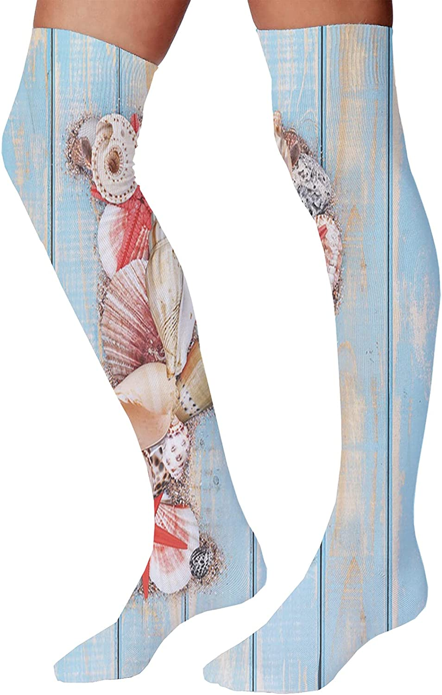 Men's and Women's Fun Socks,Owls Illustration with Romantic Elements Arrow Eyesight Partners in Amour Artful Design