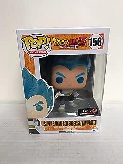 Funko Pop Dragonball Z Super Saiyan God Metallic Blue Vegeta Exclusive VInyl FIgure