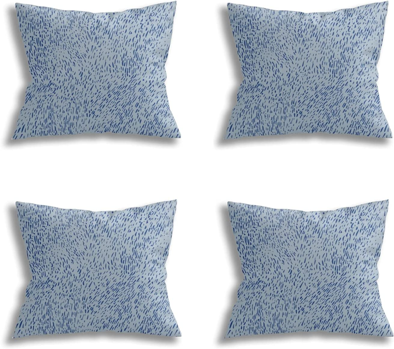 RVGHZA Set of 4 New product type Cheap sale Decorative Pillow Throw Couch Cove Covers