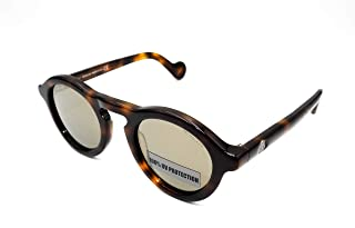 Sunglasses Moncler ML 0042 52C dark havana / smoke mirror
