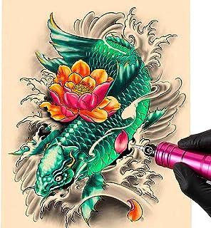 10 Vellen Simuleren Blanco Tattoo Oefenhuid 27 * 15 cm Synthetische Huid Voor Tatoeëren Beginners Tatoeages Huid Siliconen...
