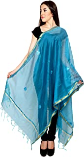 Womens Ethnic Long Indian Tradition Stole-Scarves Long-dupatta-chunni-Scarf-Wrap