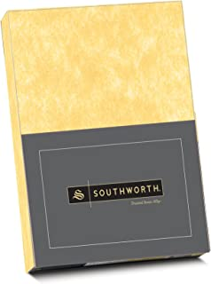 Pk 90 shts New A5 Certificate paper gold border on cream parchment 90gm