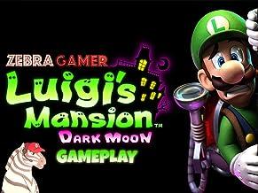 Clip: Luigi's Mansion Dark Moon Gameplay - Zebra Gamer