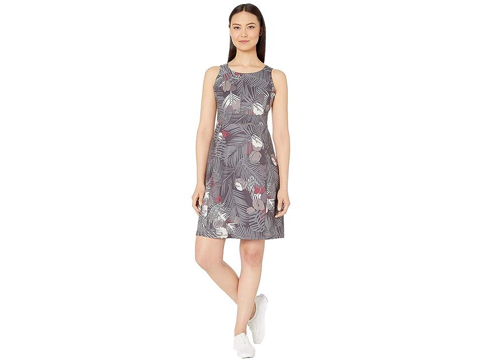 Royal Robbins Jammer Knit Dress (Asphalt Print) Women
