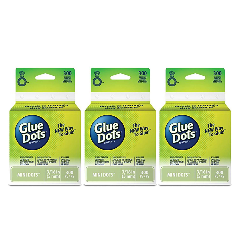"""12 PK//Glue Dots .5/"""" 36//Pkg-Removable"""