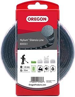 Oregon 800001 Nylium Silencio-maaidraad, 1,6 mm x 15 m (blisterverpakking)