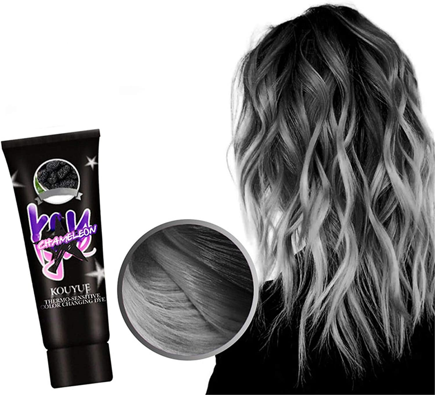 Thermochromic Color Changing 5 popular Wonder Cr Fashion Dye Hair gift