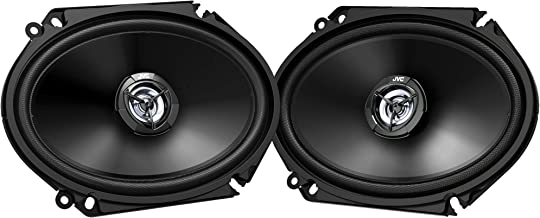 """$59 » Sponsored Ad - JVC Mobile CS-DR6821 drvn DR Series Shallow-Mount Coaxial Speakers (6"""" x 8"""", 300 Watts Max, 2 Way)"""