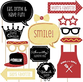 Big Dot of Happiness Family Reunion - Photo Booth Props Kit - 20 Count