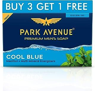 Park Avenue Cool Blue Fragrant Soap, 125g (Buy3 Get 1 Free)