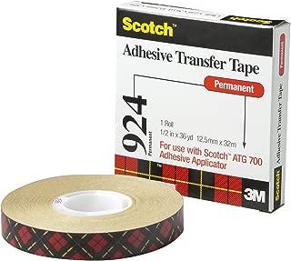Scotch 7000116652 Ruban /à Transfert dAdh/ésif ATG 969 12 mm x 16,5 m Lot de 72