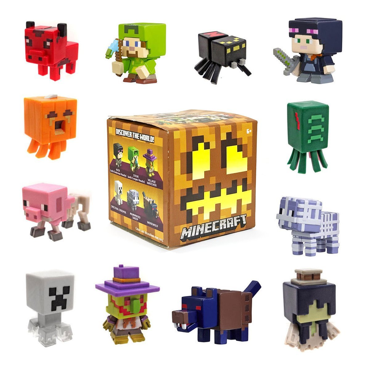 Minecraft End Stone Series 6 Mini Figure Mystery Pack: Amazon.es: Juguetes y juegos