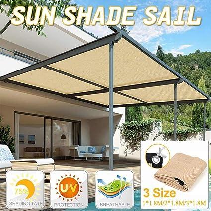 LIMMC - Toldo impermeable rectangular para protección solar ...