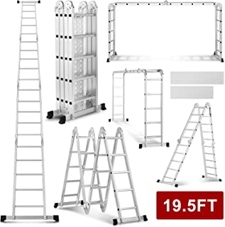 single aluminium ladder