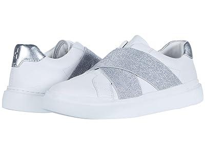 Cole Haan Grandpro Rally Slip-On Sneaker (Optic White/Silver/Optic White) Women