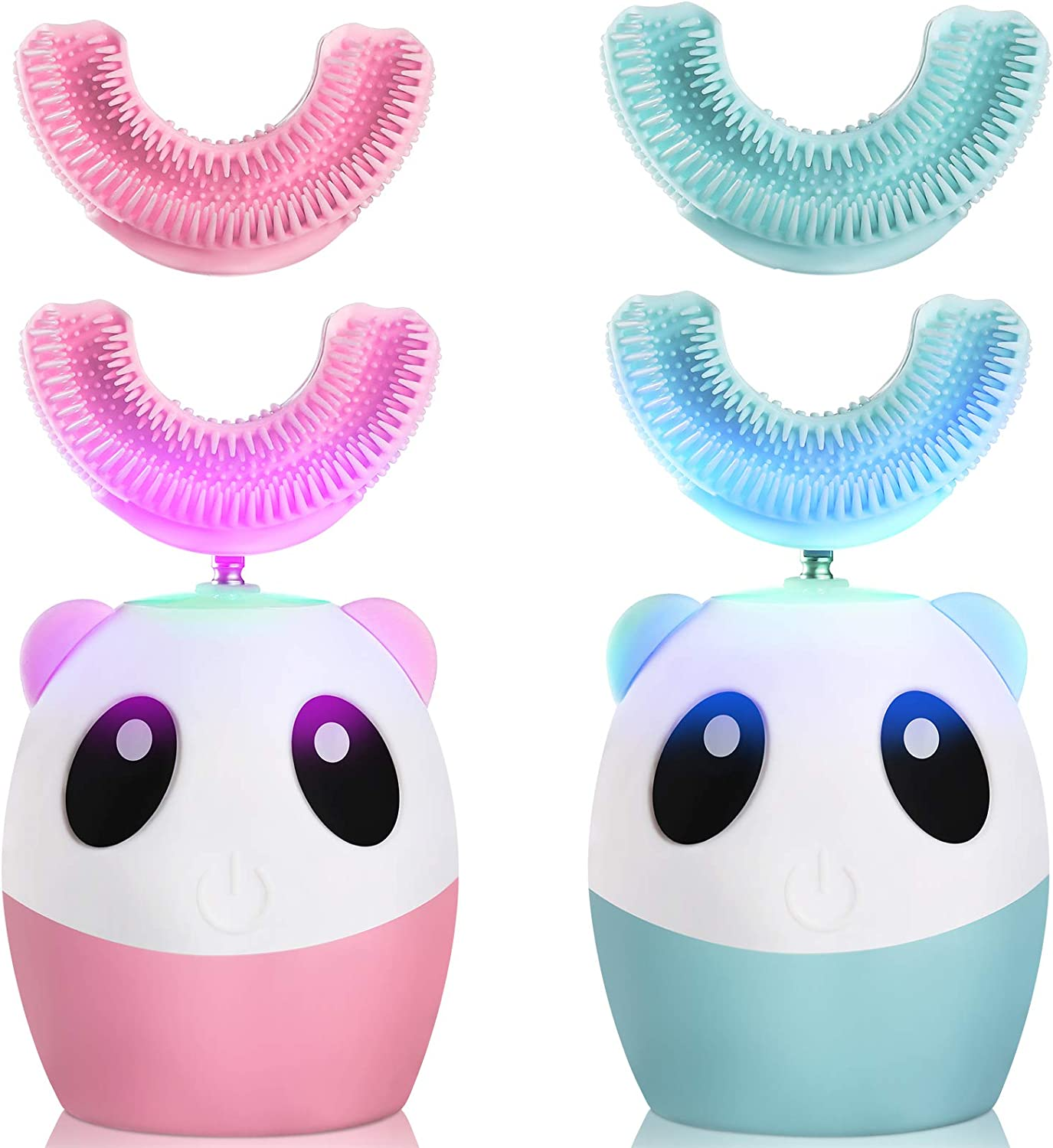 2 Pieces Kids Spasm price U Seattle Mall Shaped Automatic Ultrasonic Toothbrush Electric