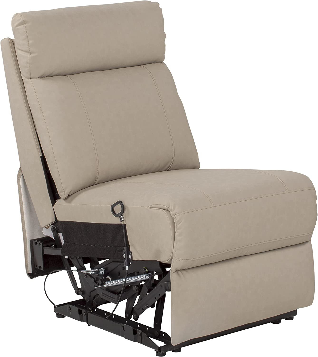 THOMAS PAYNE Heritage Series Theater Seating Collection Armless Recliner for 5th Wheel RVs Travel Trailers and Motorhomes Altoona