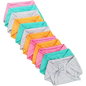 Sunuo Washable Reusable Multicolour Hosiery Cotton Diapers,Nappy,Langot for New Born Baby Kids(0-6 Months,) (Pack of 5)