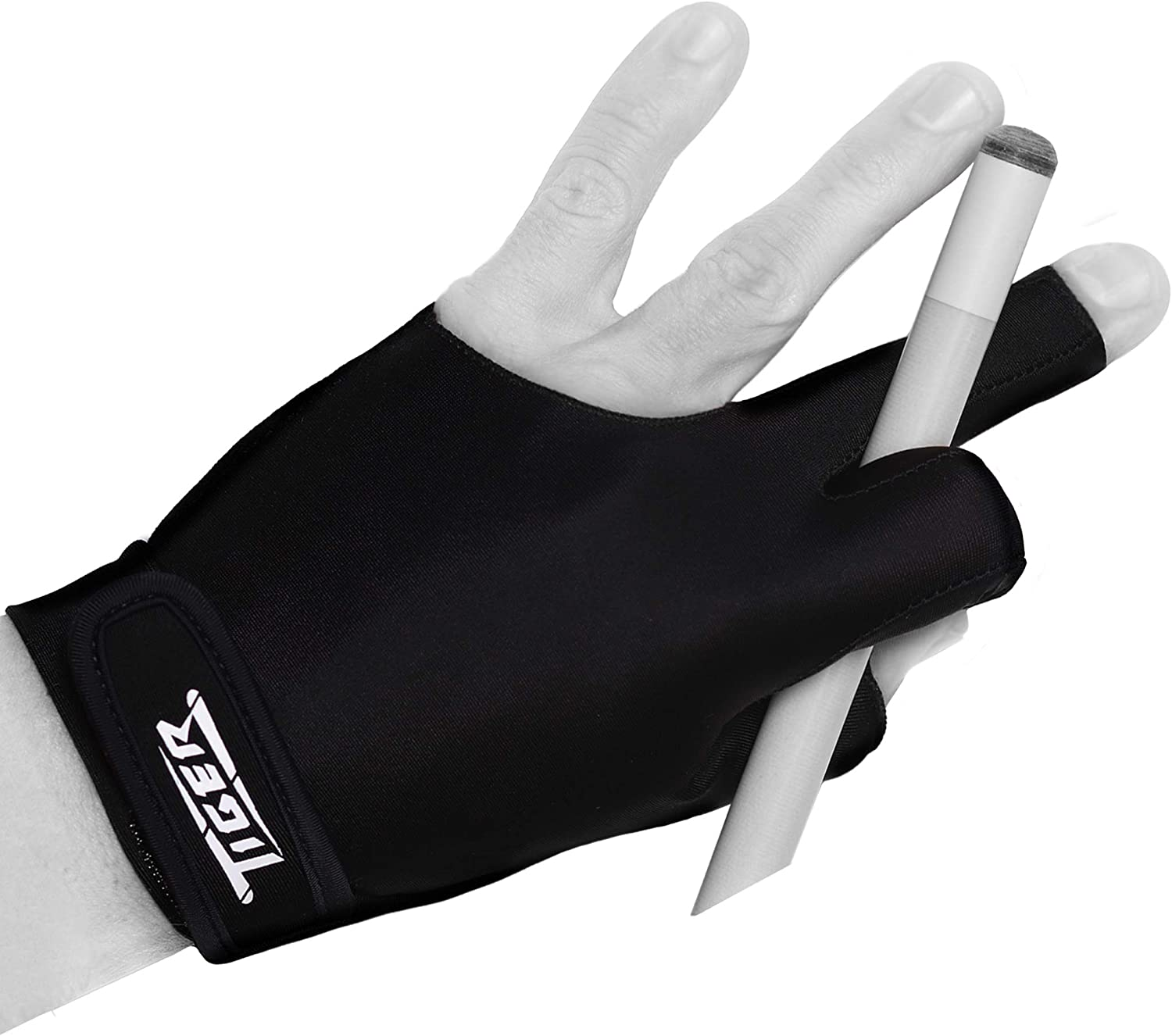 Tiger-X Billiard Recommended Glove - Black for Max 60% OFF Left Tiger by Hand Products