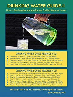 Drinking Water Guide-II: How to Remineralize and Alkalize the Purified Water at Home!