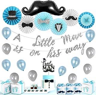 Mustache straw mustache birthday party gender reveal wedding Little man, 1st birthday mustache Baby Shower Decoration bridal shower