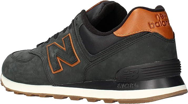 New Balance 574 Nbi Baskets Homme Noir