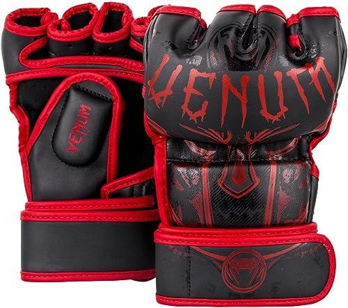 Venum Gants de MMA Gladiator 3.0noir rouge MMA Grappling Libre Fight Sparbague Gants de la Série Gladiator
