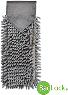 Norwex Chenille Hand Towel - Graphite Gray