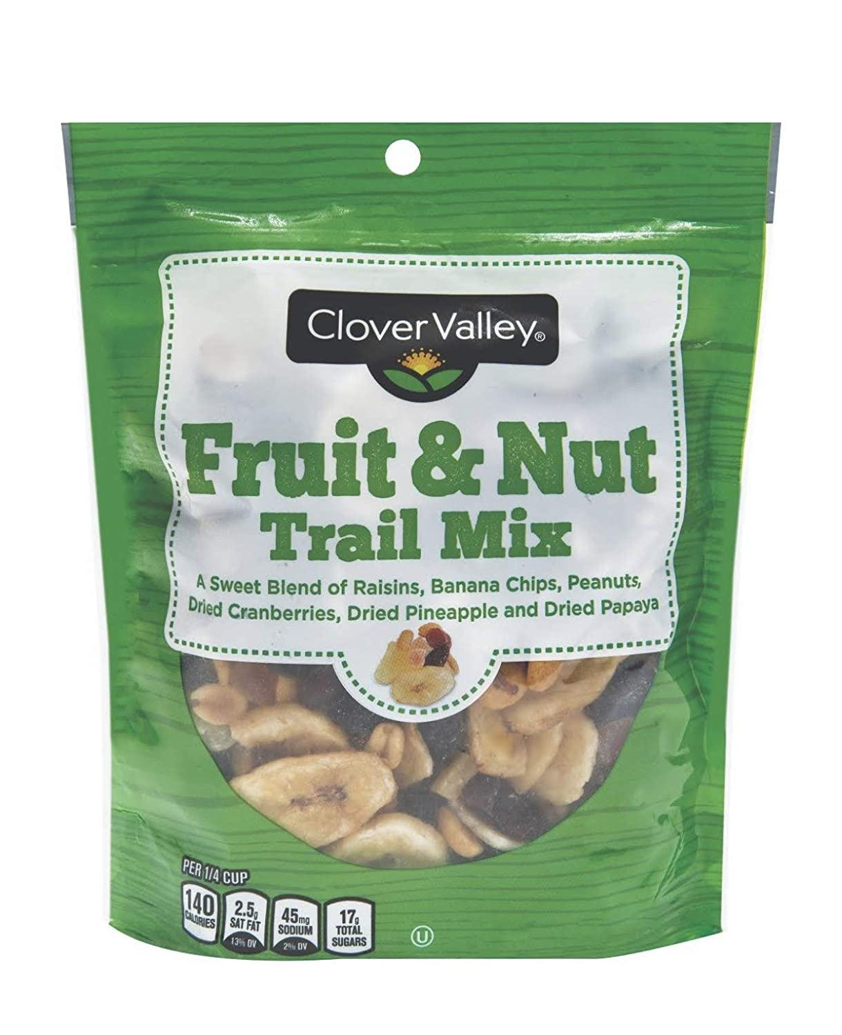 OFFicial site Lowest price challenge Clover Valley Fruit Nut Trail Mix in oz. Bag 10 - Re-sealable