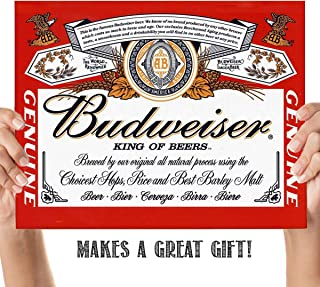 budweiser picture frame