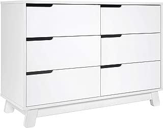 Babyletto Hudson 6-Drawer Assembled Double Dresser, White