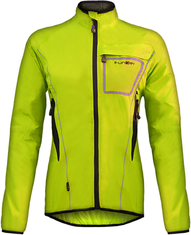 Funkier Women's WJ1403 Waterproof Cycling Jacket