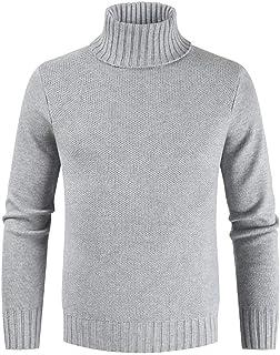 Man Knit Pullover Knit Turtleneck Sweater Vest Jacket Pullover Hoodie Pullover Hoodie Winter Warm Sweetheart Sweater Sweat...