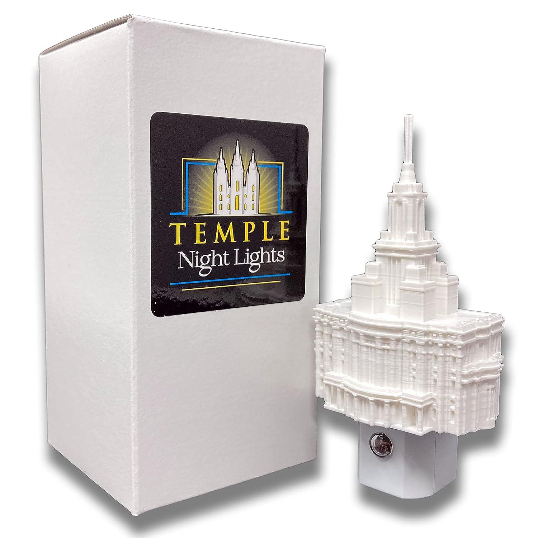 Payson San Jose Mall Utah Temple Night LED Luxury goods Plug-in Light