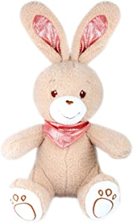 """TORMAYS Stuffed Rabbit Cute Plush Bunny Toy Gifts for Kids 16"""", Multicolor Options (Tan)"""