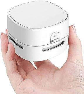Portable Mini Vacuum Cleaner, Handheld Table Dust Sweeper Energy Saving, Desktop Crumb Sweeper for Keyboard/Home/School/Of...