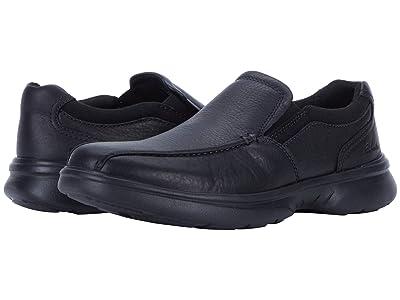 Clarks Bradley Step (Black Tumbled Leather) Men