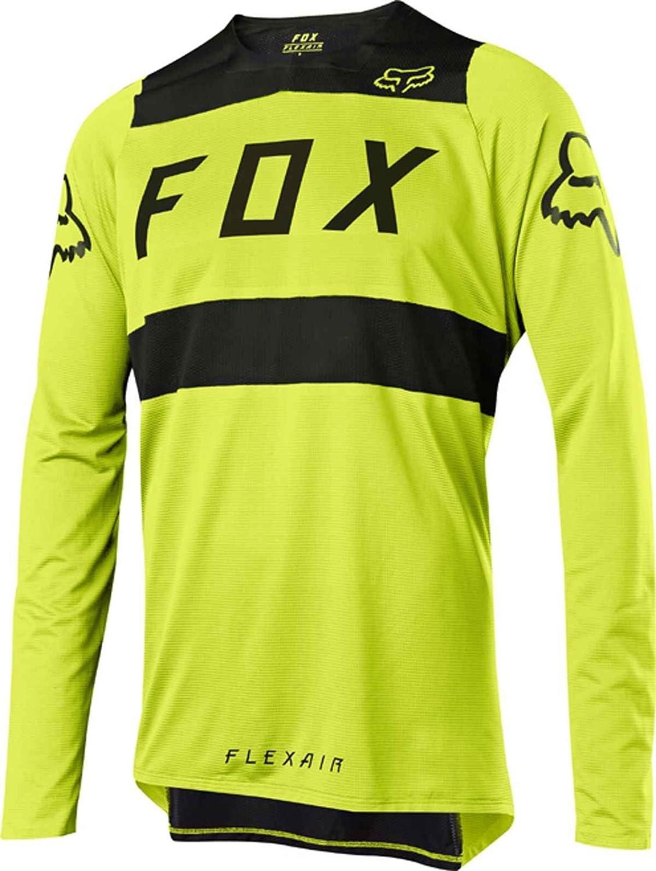 Fox FLEXAIR MTB Downhill Jersey Spring 2018 - gelb schwarz