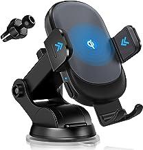 شارژر بی سیم خودرو ، Owhow Max 15W Qi Fast Charging Auto Clamping Charger Phone Mount Mount جلوپنجره داشبورد هوا دریچه نگهدارنده تلفن برای iPhone 12 11 Pro Max XS Samsung Galaxy S20 Ultra /S10 /S9 و غیره