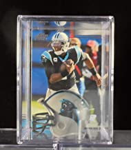 Cam Newton Carolina Panthers Trading Card & Mini-Helmet Display